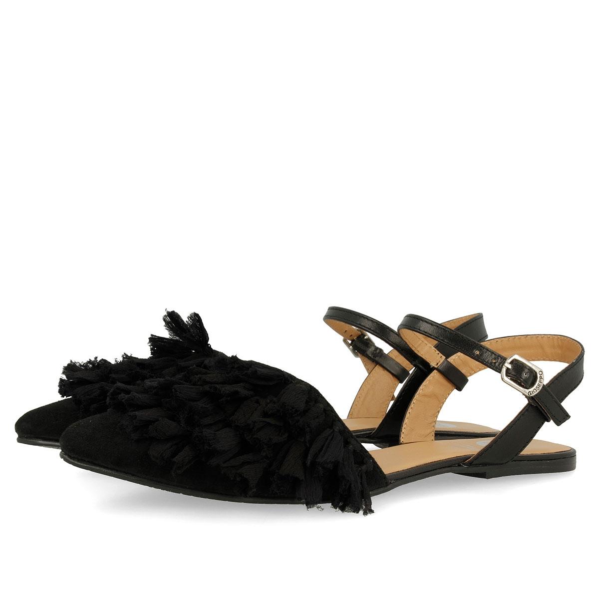Cubierta En Negro Para Sandalias Mujer Con 44356 Punta rtsdxhQCoB