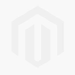 Boys' white school sneakers with double velcro and navy blue detail EPSILON